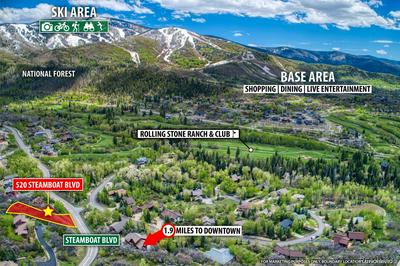 520 STEAMBOAT BLVD, Steamboat Springs, CO 80487 - Photo 1