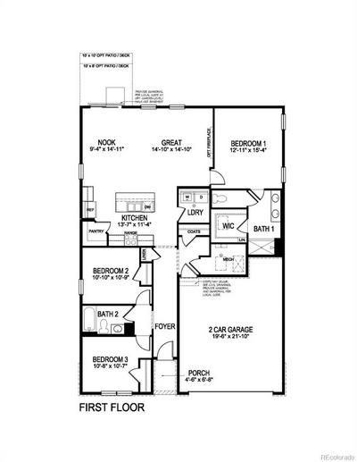 2014 ROSETTE PL, Castle Rock, CO 80104 - Photo 2