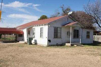 901 ELM ST, Miles, TX 76861 - Photo 1