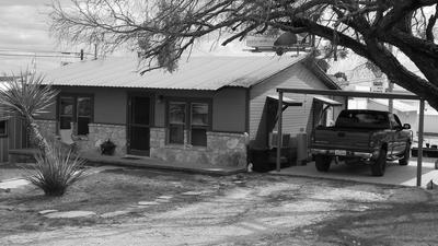 110 E SHERWOOD AVE, Mertzon, TX 76941 - Photo 1