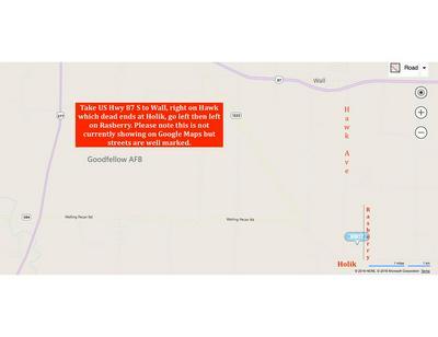 12602 RASBERRY LANE, Wall, TX 76957 - Photo 2