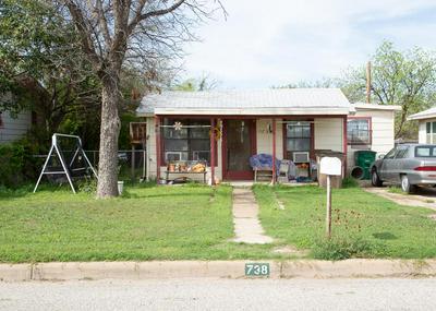 738 ANTONIO ST, SAN ANGELO, TX 76903 - Photo 1