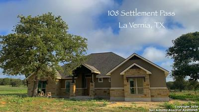 108 SETTLEMENT PASS, La Vernia, TX 78121 - Photo 1