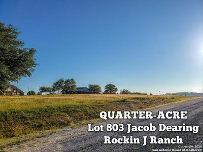 LOT 803 JACOB DEARING, Blanco, TX 78606 - Photo 1