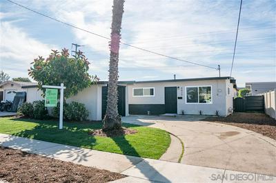 4825 BARSTOW ST, SAN DIEGO, CA 92117 - Photo 1