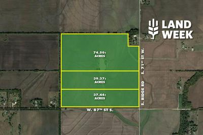 37.44 +/- ACRES AT 87TH & RIDGE RD., Clearwater, KS 67026 - Photo 1