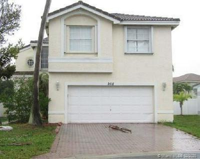 2415 SW 162ND TER, MIRAMAR, FL 33027 - Photo 1