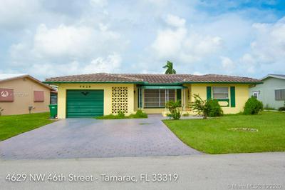 4629 NW 46TH ST, Tamarac, FL 33319 - Photo 1