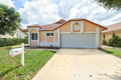 707 HOLLY ST, North Lauderdale, FL 33068 - Photo 1