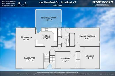 120 SHEFFIELD CIR, Stratford, CT 06614 - Photo 2