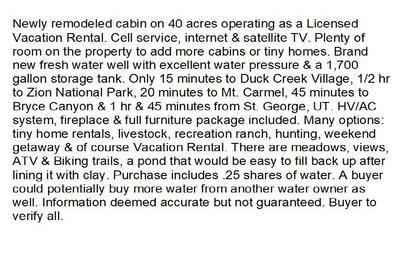 2130 N EL DORADO (CEDAR MOUNTAIN) TRAIL # 1, Duck Creek, UT 84762 - Photo 2