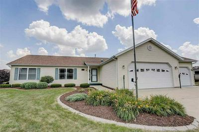 406 OVERLOOK TER, Marshall, WI 53559 - Photo 1