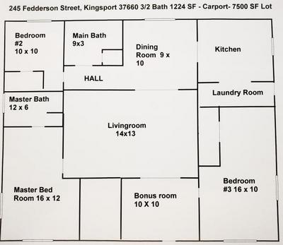 245 FEDDERSON ST, Kingsport, TN 37660 - Photo 2