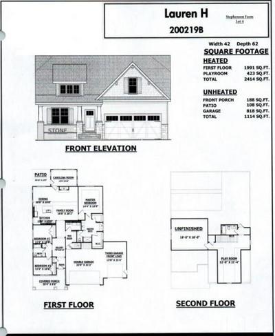 834 MAMIE UPCHURCH RD, Lillington, NC 27546 - Photo 1