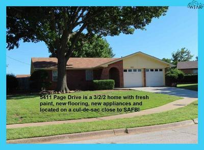 5411 PAGE DR, Wichita Falls, TX 76306 - Photo 1