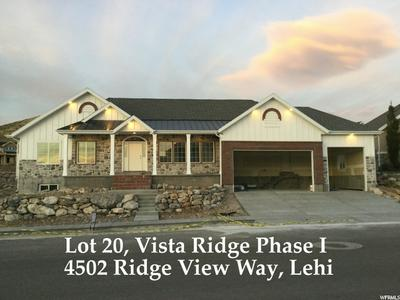 4502 N RIDGE VIEW WAY # 20, Lehi, UT 84043 - Photo 1