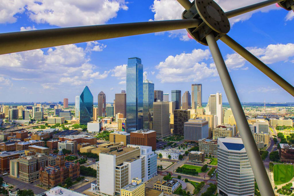 City Of Dallas Careers >> Reunion Tower Observation Deck In Downtown Dallas Tx