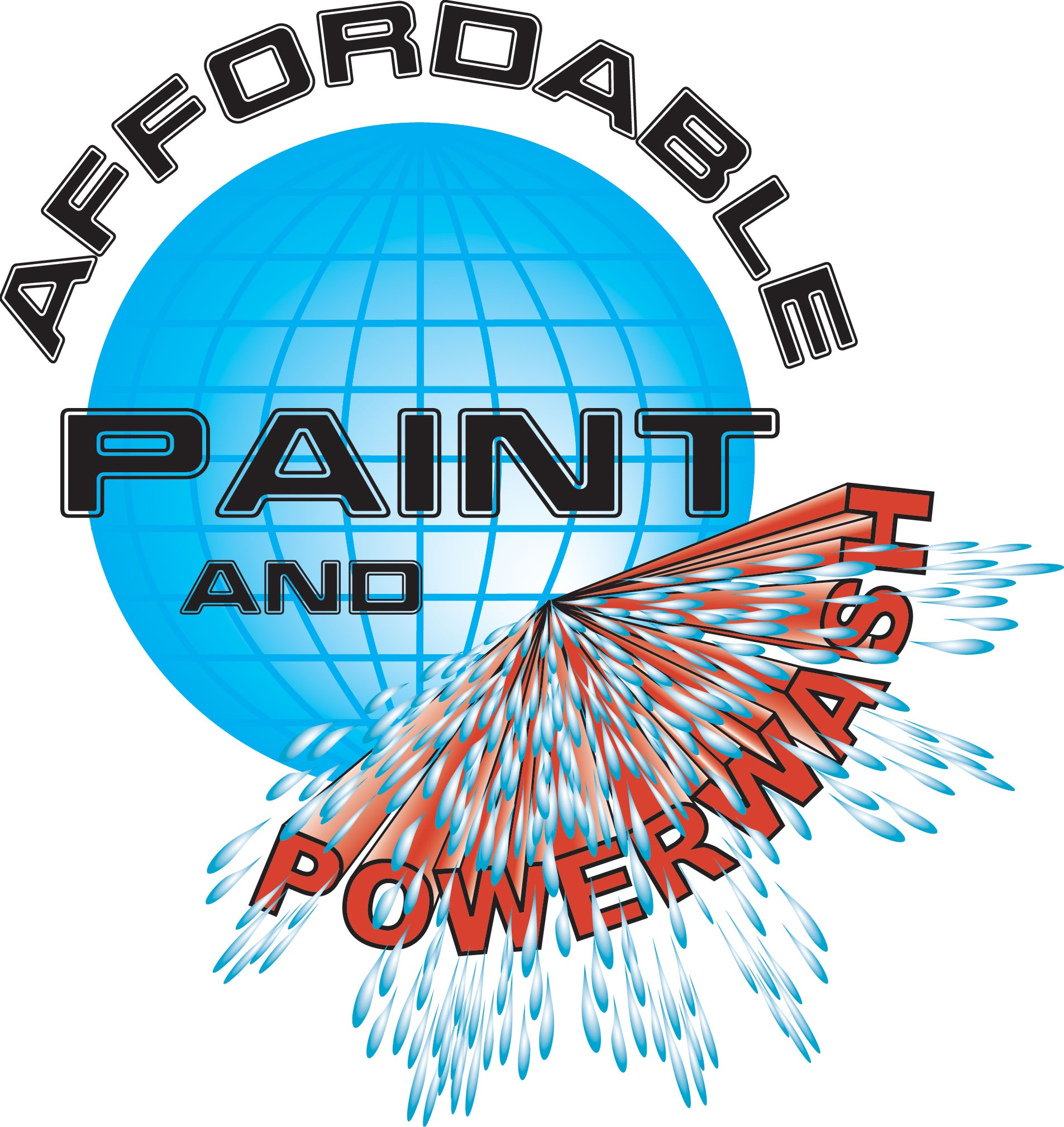 Affordable Paint and Power Wash Business Logo