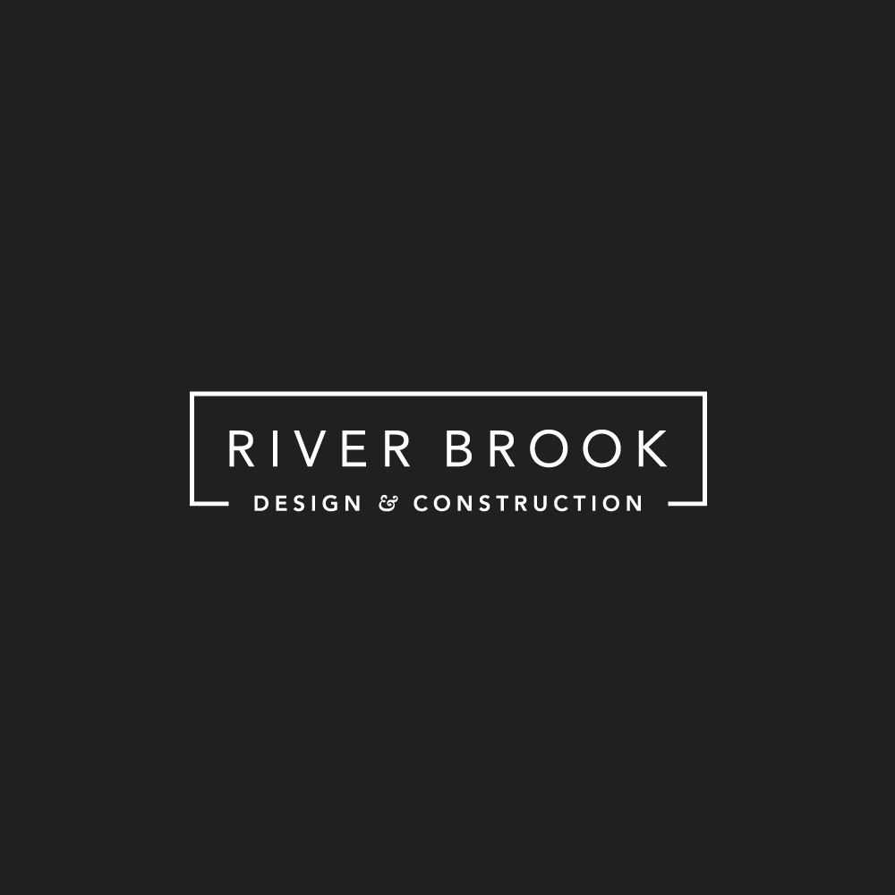 River Brook Design & Construction  Business Logo