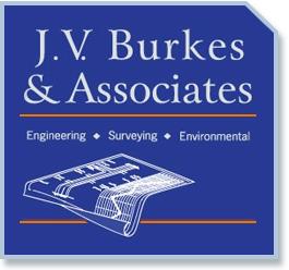 J.V. Burkes & Associates   Sean Burkes Business Logo