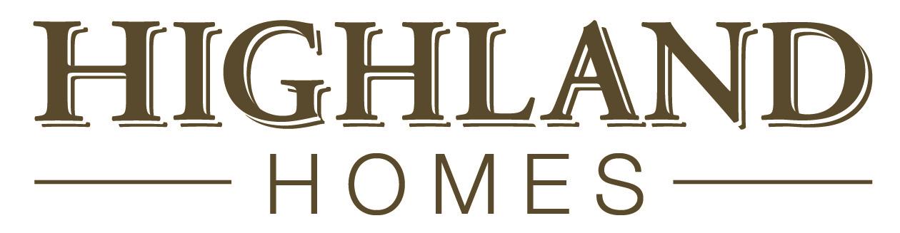Highland Homes | Chuck Schiller Business Logo