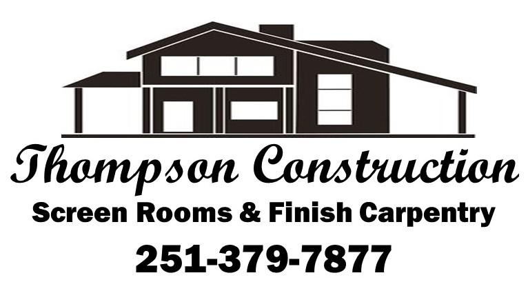 Thompson Construction Business Logo