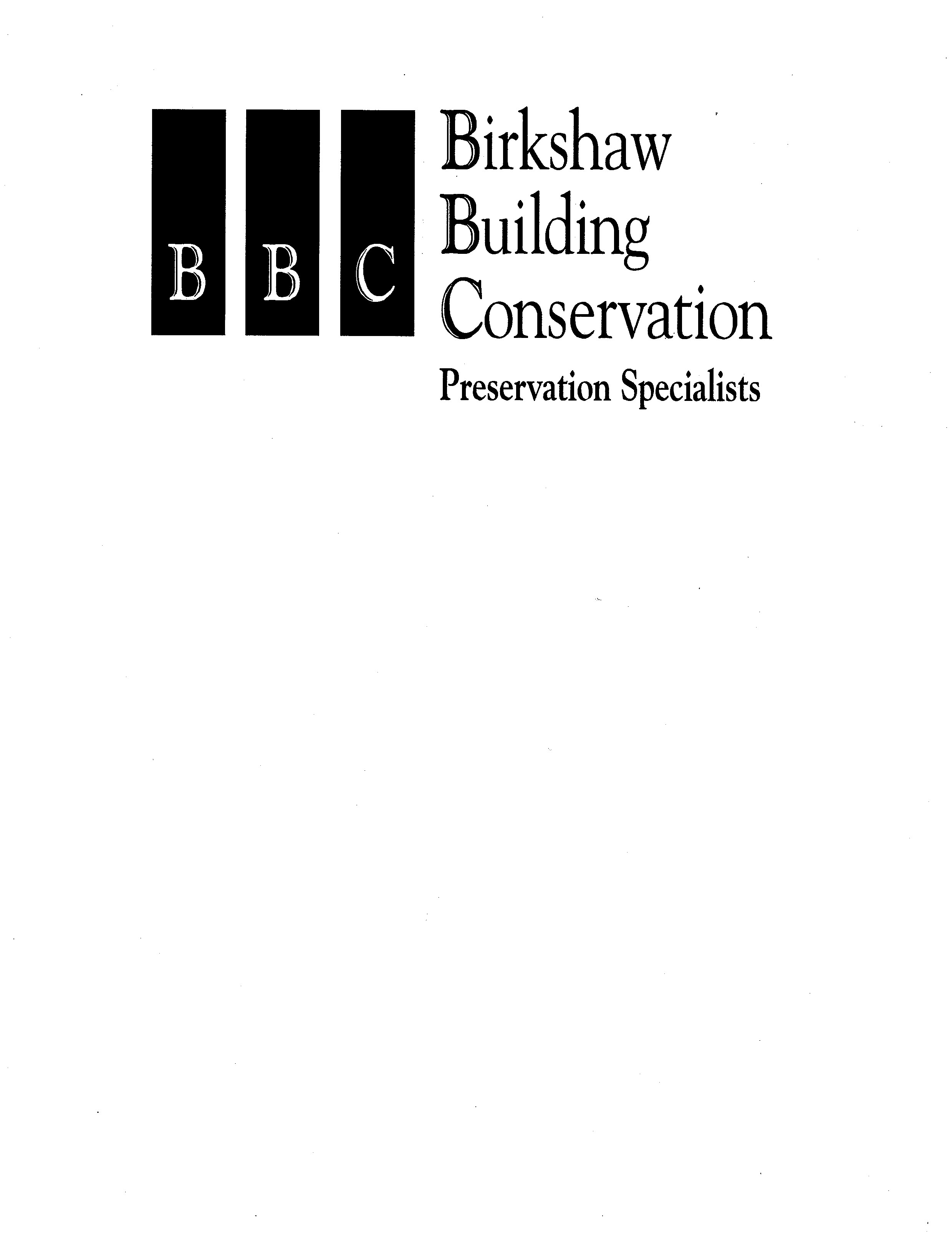 Birkshaw Building Conservation Business Logo