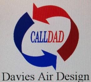 Davies Air Design Business Logo