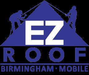 EZ Roof & Restoration Business Logo