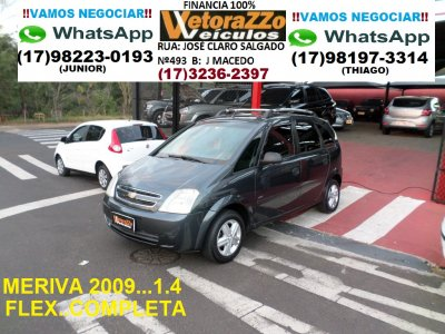 Veículo MERIVA 2009 1.4 MPFI JOY 8V FLEX 4P MANUAL