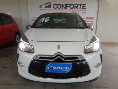 Veículo DS3 2016 1.6 THP SPORT CHIC 16V GASOLINA 2P MANUAL