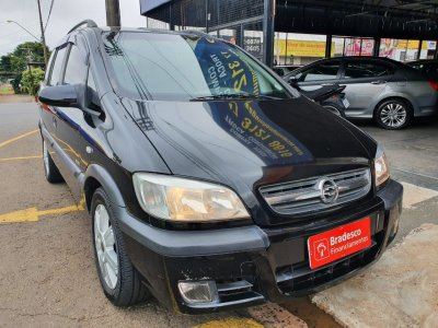 Veículo ZAFIRA 2005 2.0 MPFI ELITE 8V FLEX 4P MANUAL