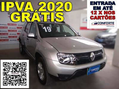 Veículo DUSTER 2019 1.6 16V SCE FLEX EXPRESSION MANUAL