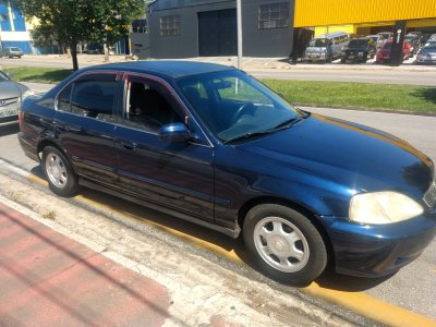 Veículo CIVIC 2000 1.6 LX 16V GASOLINA 4P MANUAL