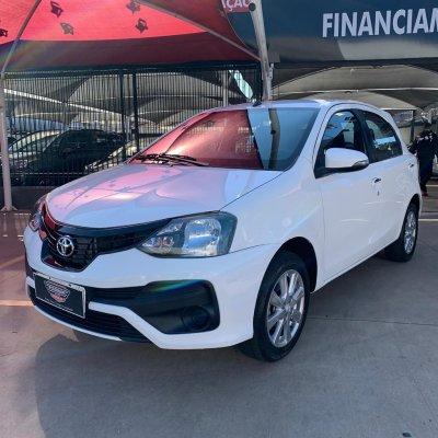 Veículo ETIOS HATCH 2019 1.5 X PLUS 16V FLEX 4P AUTOMÁTICO