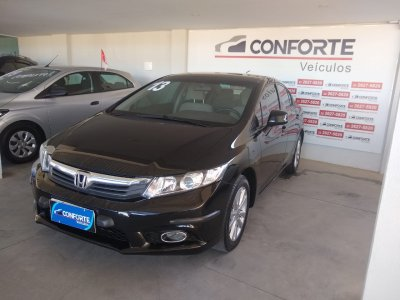 Veículo CIVIC 2013 1.8 LXS 16V FLEX 4P MANUAL