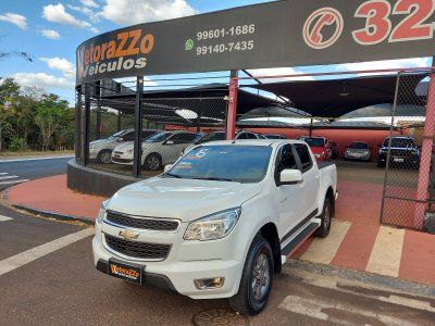 Veículo S10 2016 2.4 ADVANTAGE 4X2 CD 8V FLEX 4P MANUAL