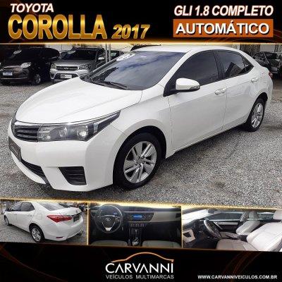 Veículo COROLLA 2017 1.8 GLI 16V FLEX 4P AUTOMÁTICO