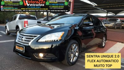 Veículo SENTRA 2016 2.0 UNIQUE 16V FLEX 4P AUTOMÁTICO
