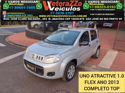 Veículo UNO 2013 1.0 EVO VIVACE 8V FLEX 4P MANUAL