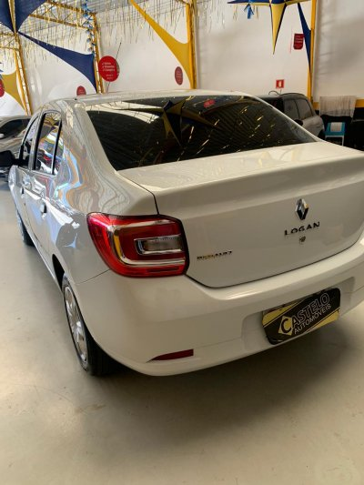 Veículo LOGAN 2019 1.0 12V SCE FLEX AUTHENTIQUE MANUAL