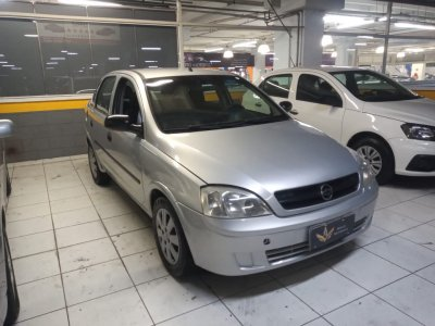 Veículo CORSA SEDAN 2004 1.0 MPFI MAXX SEDAN 8V GASOLINA 4P MANUAL