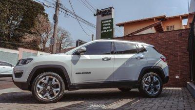 Veículo COMPASS 2019 2.0 16 V DIESEL LONGITUDE 4X4 AUTOMÁTICO