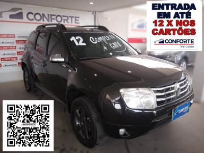 Veículo DUSTER 2012 1.6 DYNAMIQUE 4X2 16V FLEX 4P MANUAL