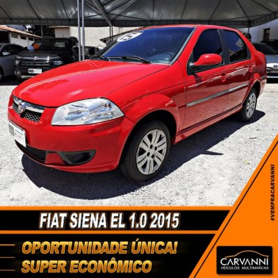 Veículo SIENA 2015 1.0 MPI EL 8V FLEX 4P MANUAL