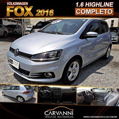 Veículo FOX 2016 1.6 MSI HIGHLINE 16V FLEX 4P MANUAL