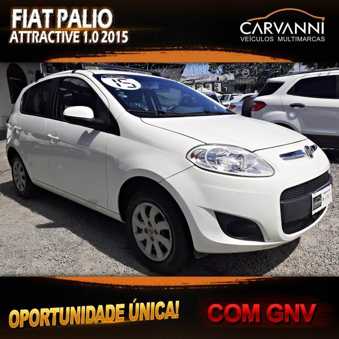 Veículo PALIO 2015 1.0 MPI ATTRACTIVE 8V FLEX 4P MANUAL