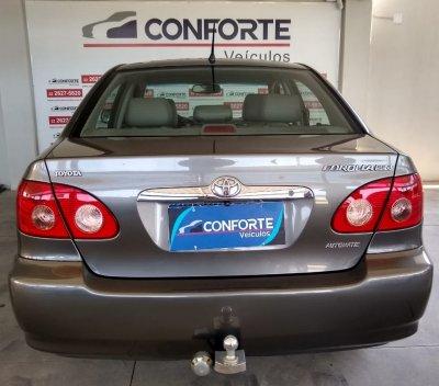 Veículo COROLLA 2005 1.8 SE-G 16V GASOLINA 4P AUTOMÁTICO