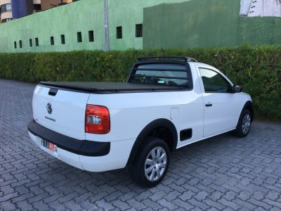 Veículo SAVEIRO 2016 1.6 MI TRENDLINE CS 8V FLEX 2P MANUAL