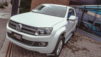 Veículo AMAROK 2014 2.0 HIGHLINE 4X4 CD 16V TURBO INTERCOOLER DIESEL 4P AUTOMÁTICO